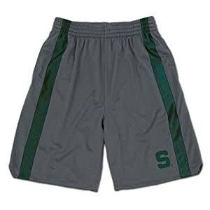 Michigan State University Men's Basketball Mesh Gym Shorts