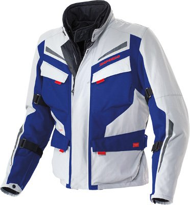 SPIDI Voyager 2 H2Out Jacket Grey/Blue M D95-050-M