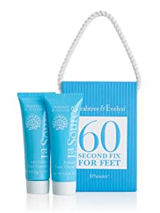 Crabtree & Evelyn La Source Mini 60 Second Fix Kit for Feet