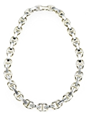 Autograph Gold & Silver Plated Baguette Necklace