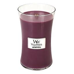 VINEYARD NIGHTS WoodWick 22oz Large Jar Candle Burns 180 Hours
