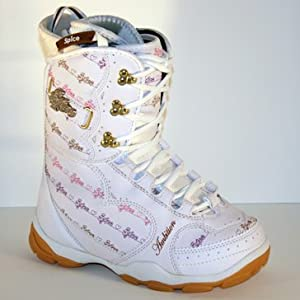 snowboard boots women's size US 10 Spice ambition two piece liner boots NEW