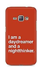 AMEZ daydreamer and night thinker Back Cover For Samsung Galaxy J1 (2016 EDITION)