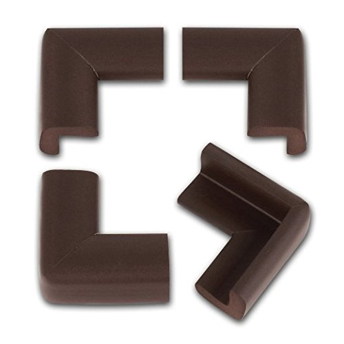 Kinglake 12 Pcs Cushiony Table Furniture Childproofing Corner Guards Protectors Baby Safety