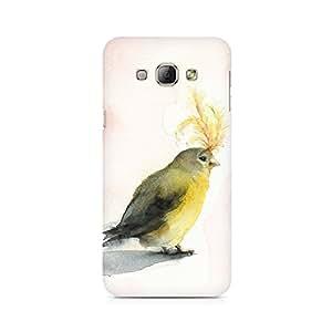 Mobicture Bird Premium Designer Mobile Back Case Cover For Samsung A3