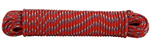 Koch 5170625 Diamond Braid Polypropylene Rope, 3/16 by 100 Feet, Assorted Colors