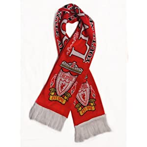 Liverpool FC - Premium Fan Scarf, Ships from USA