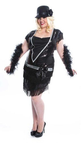 Elegant Flapper Adult Plus Costume