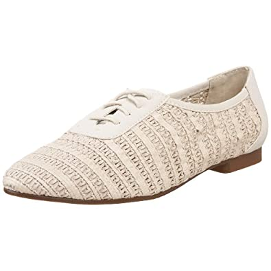 Steve Madden Women's Tirah Oxford,Bone,9.5 M US