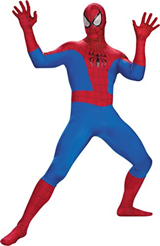 Disguise Costumes Men's Spiderman Adult Rental, Red/Blue/Black, 38-40