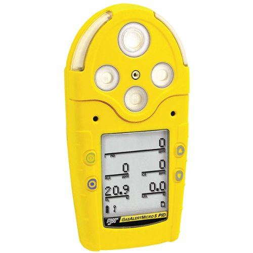 Gasalertmicro 5 Multigas Detector; O2/Clo2/Co/H2S/Lel, Data Logger, Pump
