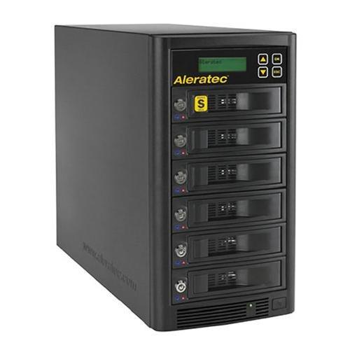 Aleratec Direct V2 1:5 Hdd Copy Cruiser High-Speed Hard Disk Drive Duplicator 350125 - Black front-283840