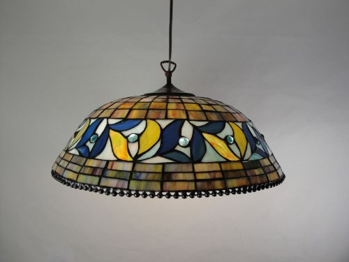 tiffany style stained glass victorian hanging lamp tiffany lamps. Black Bedroom Furniture Sets. Home Design Ideas