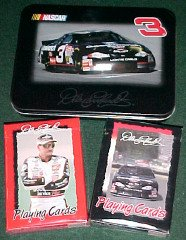 Dale Earnhardt No. 3 Playing Cards/Collectible Tin - 1
