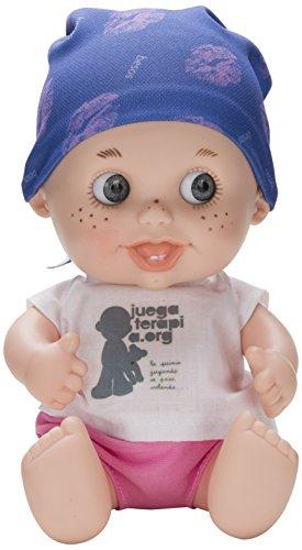 Juegaterapia - Muñeco Baby Pelón Amelia Bono (Berjuán 0146)