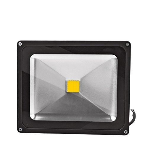 WIDEN ELECTRIC 30W LED Projecteur Lampe de LED Exterieur Lampe Blanc Chaud 3200K IP65 LED Spot Lampe du Jardin (4pcs 30w)