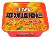 ニュータッチ 汁なし麻辣担担麺 133g x 12個入