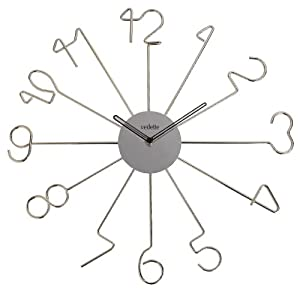 Vedette VP40027 - Reloj de pared analógico de cuarzo - metálico de Vedette