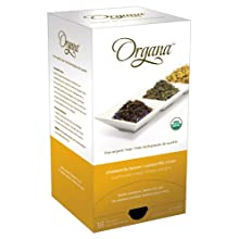 Organa ORG5025 Chamomile Lemon Single Cup Tea Pods, 18-count