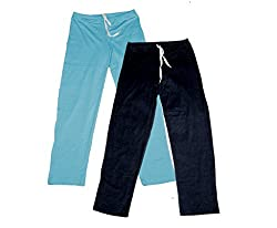 Indistar Women Super Combo Pack 4 (Pack of 2 Lower/Track Pant and 2 T-Shirt)_Turquoise::Black::Blue::White_XXL