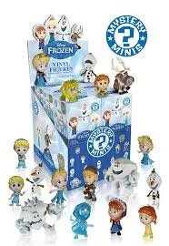 "Funko Disney Frozen Mystery Mini Action Figure - Anna ""Winter Outfit"" 1/12 Rarity"