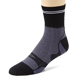 DeFeet Unisex Levitator Lite Graphite Sock