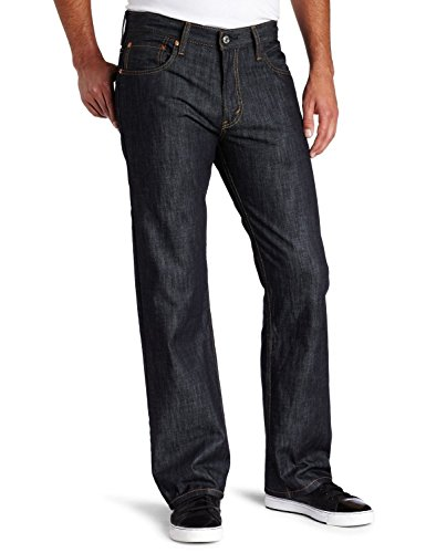 Crun Men's 569 Loose Straight-Leg Jean Ice Cap 44W x 32L