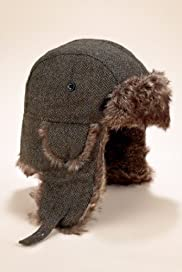 Pure Wool Herringbone Faux Fur Trapper Hat [T09-2275-S]