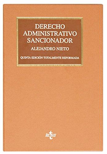 Derecho Administrativo sancionador (Derecho - Biblioteca Universitaria De Editorial Tecnos)