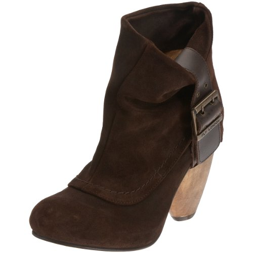 Fly London Women's Rosa Ankle Boot Expresso/Dark Brown Suede P141722001 4 UK