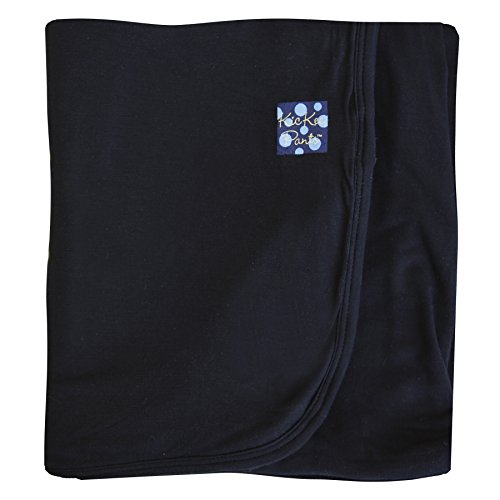 Kickee Pants Basic Stroller Blanket- Midnight, One Size