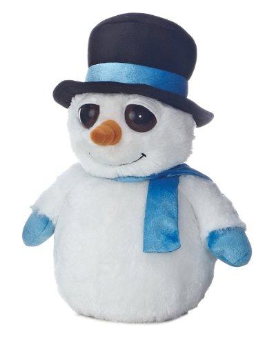 "Aurora Plush 14.5"" Mister Snowman"