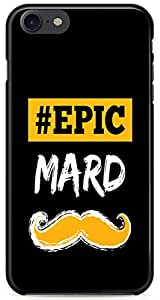 Fonokart Premium Apple iPhone 7 Epic Mard Funny Designer 3D Printed Matte Finish Slim Unique High Quality Case Slim Lightweight Back Cover Hard Case