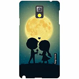 Design Worlds Samsung Galaxy Note 3 N9000 Back Cover - light Designer Case and Covers