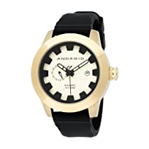 Android Men's AD397BGG Antiforce Automatic Gold-Tone Dial Watch