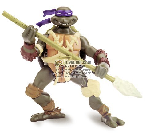 Picture of Playmates Donatello: Teenage Mutant Ninja Turtles Paleo Patrol Series 4