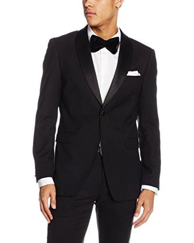 ESPRIT Camisa Hombre  Negro ES 50 (DE 98)