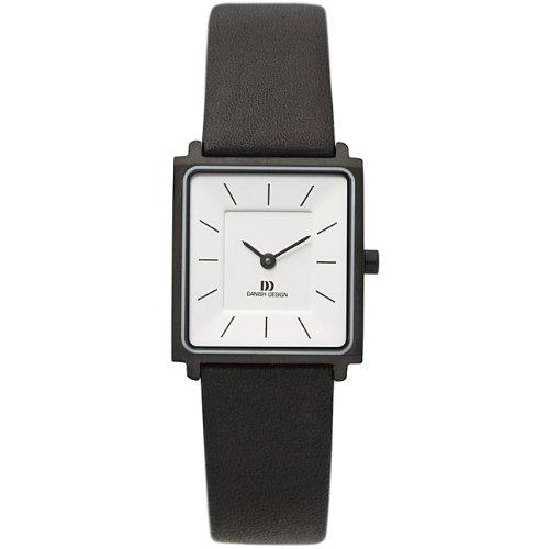 Danish Design Women's Black-plated Titanium Watch-IV18Q586