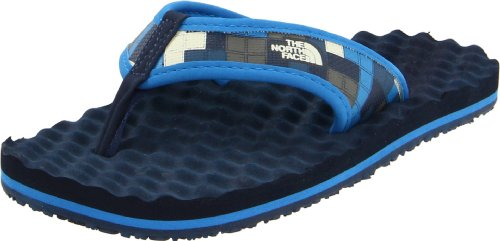 The North Face Base Camp Flip-Flop (Little Kid/Big Kid),Deep Water Blue/Athens Blue,11 M Us Little Kid