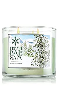 Bath & Body Works Fresh Balsam 3 Wick Candle 2014