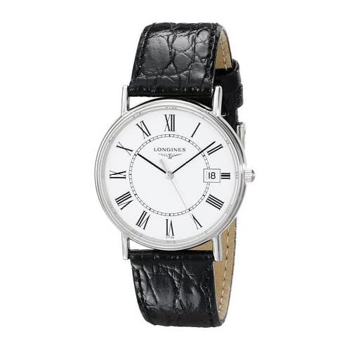 ロンジン Longines Men's L47204112 Presence Collection Watch 男性 メンズ 腕時計 【並行輸入品】