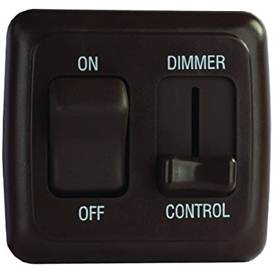 JR Products Dimmer On/Off Switch with Bezel