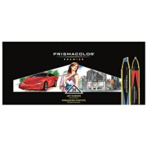 Amazon.com: Prismacolor Premier Double Ended Art Markers, 24 Colored Markers(3721): Arts, Crafts & Sewing