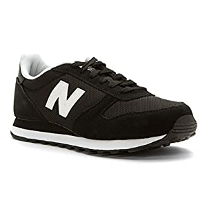 New Balance Men's Ml311 Lifestyle Fashion Sneaker, Black, 10 D US