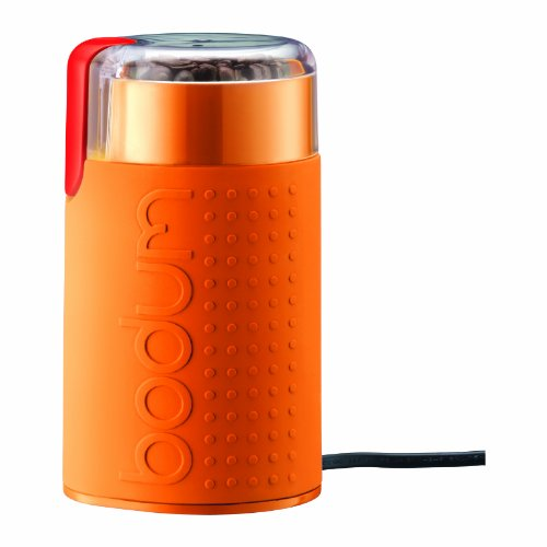 Bodum Bistro Electric Blade Grinder, Orange