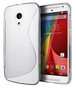 Helix Back Cover for Moto G White