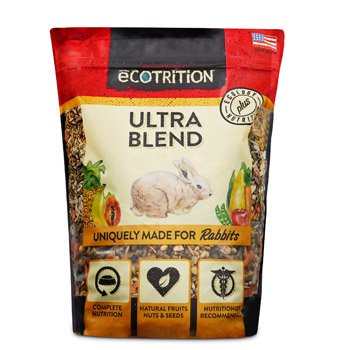 eCOTRITION Ultra Blend Rabbit Food, 4 lbs.