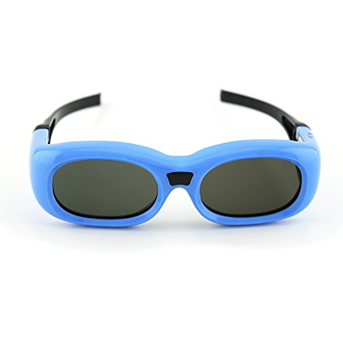 Compatible Optoma Blue G7 Universal 3D Glasses by Quantum 3D