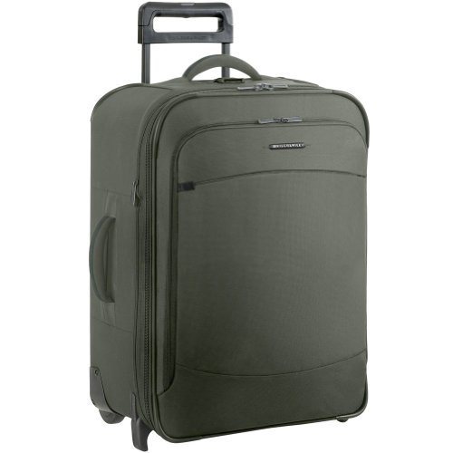 Briggs and Riley Luggage 24 Inch Expandable Upright Bag, Rainforest, 24, Bags Central