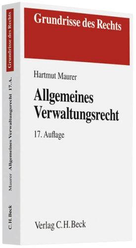 Allgemeines Verwaltungsrecht Hartmut Maurer pdf online lesen - yzexedet